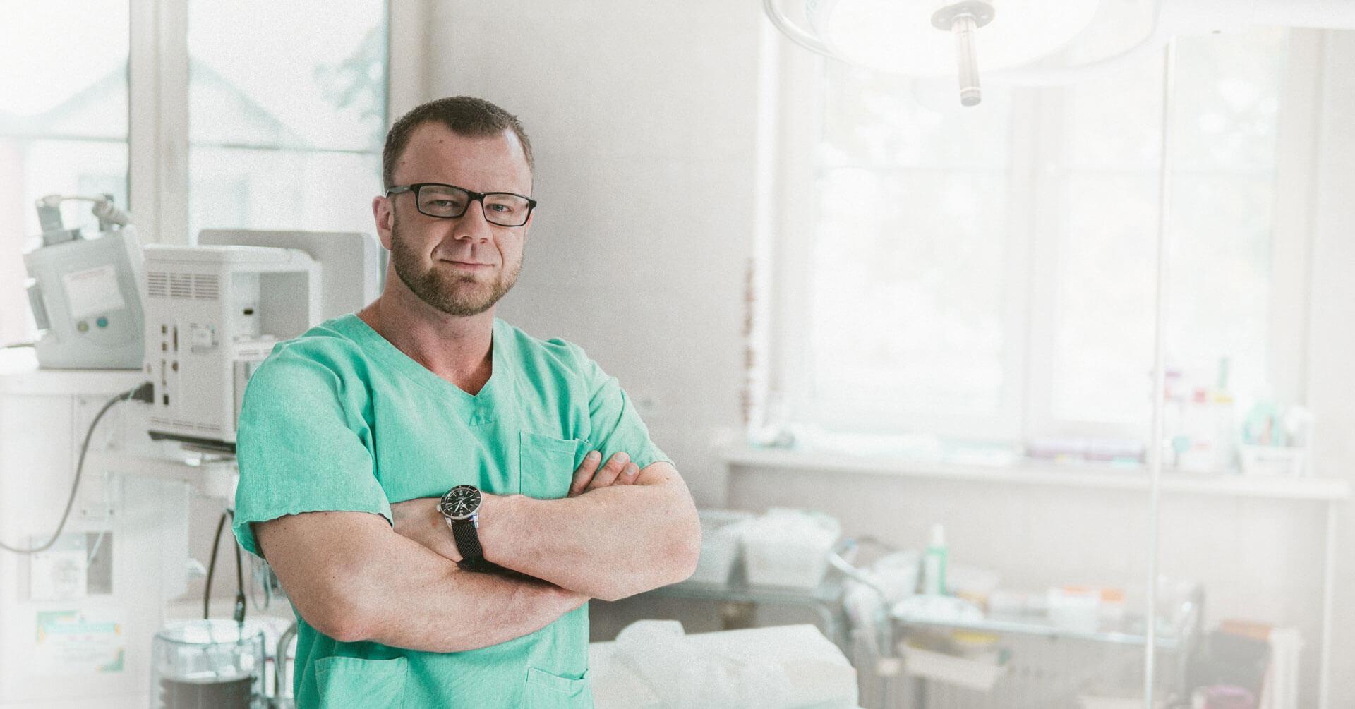 Dr n. med. Andrzej Lehmann, specjalista chirurgii ogólnej
